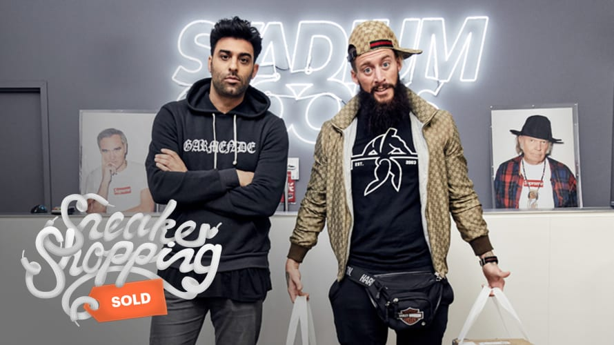 Sneaker Shopping with Enzo Amore