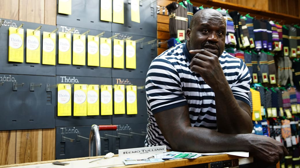Shaquille O'Neal Small Business Amex Nov 2017