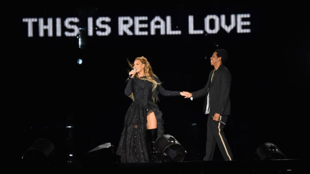 The Carters tour