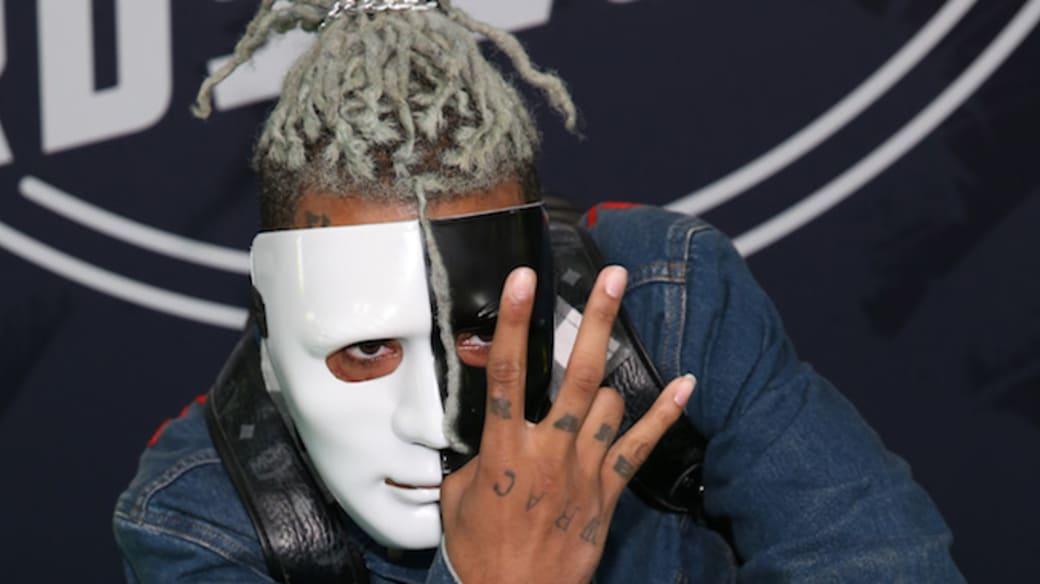 Rapper XXXTentacion attends the BET Hip Hop Awards 2017.