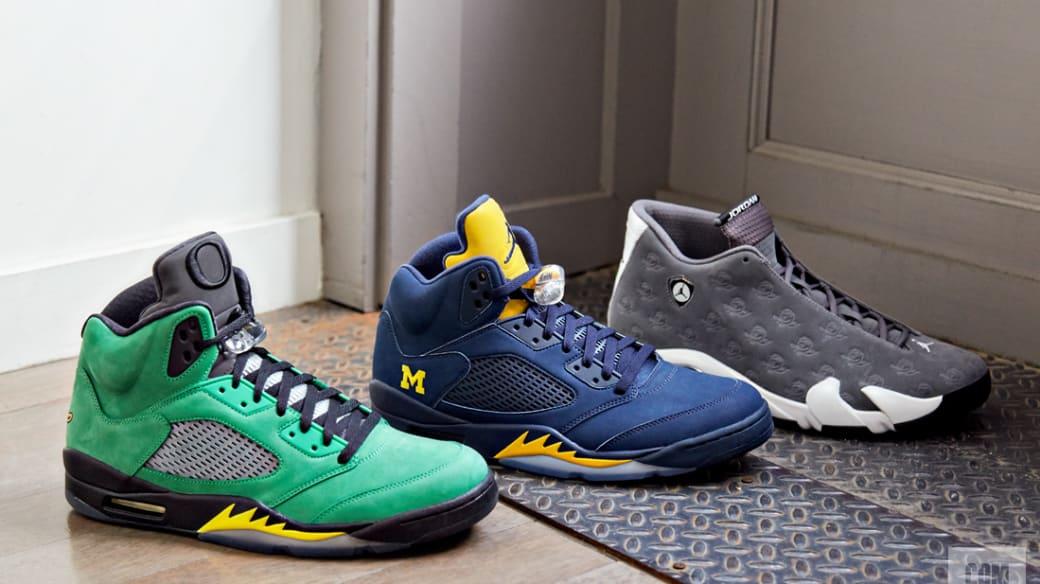PE Jordans