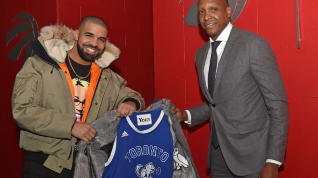 Drake and the Raptors.