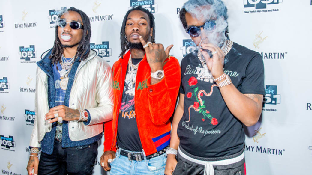 Migos attend the Power 105.1's Powerhouse 2017 at Barclays Center