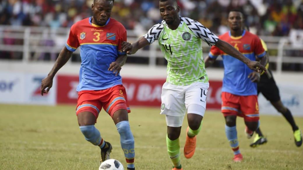 Nigeria DR Congo 2018 Friendly Getty