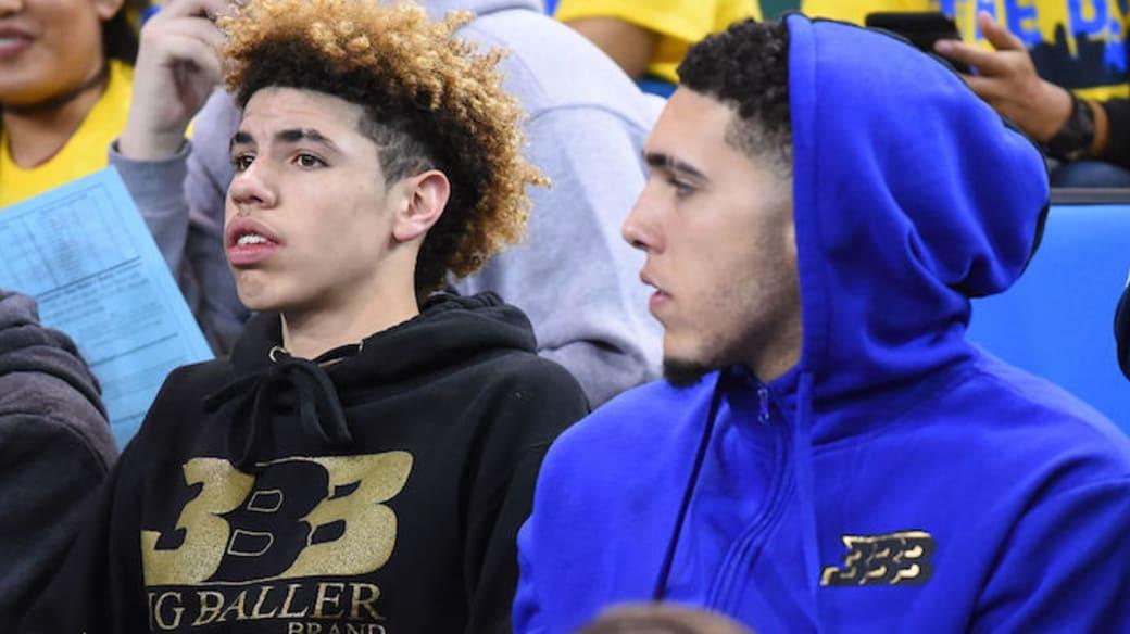 Ball brothers UCLA game
