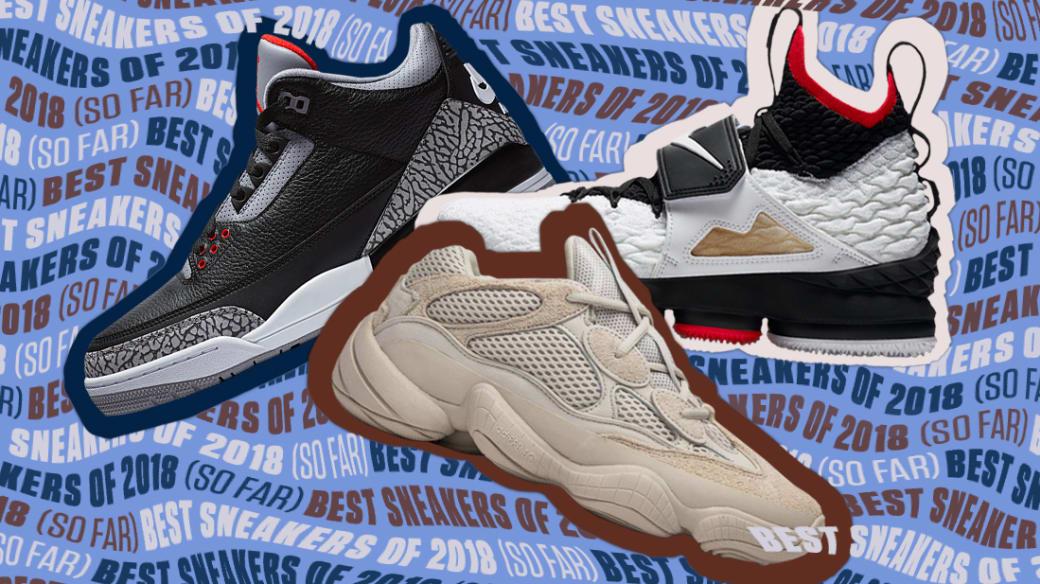 BestSneakersOf2018(SoFar)