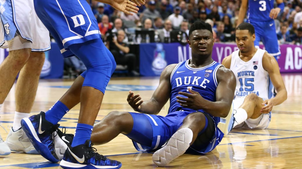 Zion Williamson Duke UNC ACC Tournament 2019