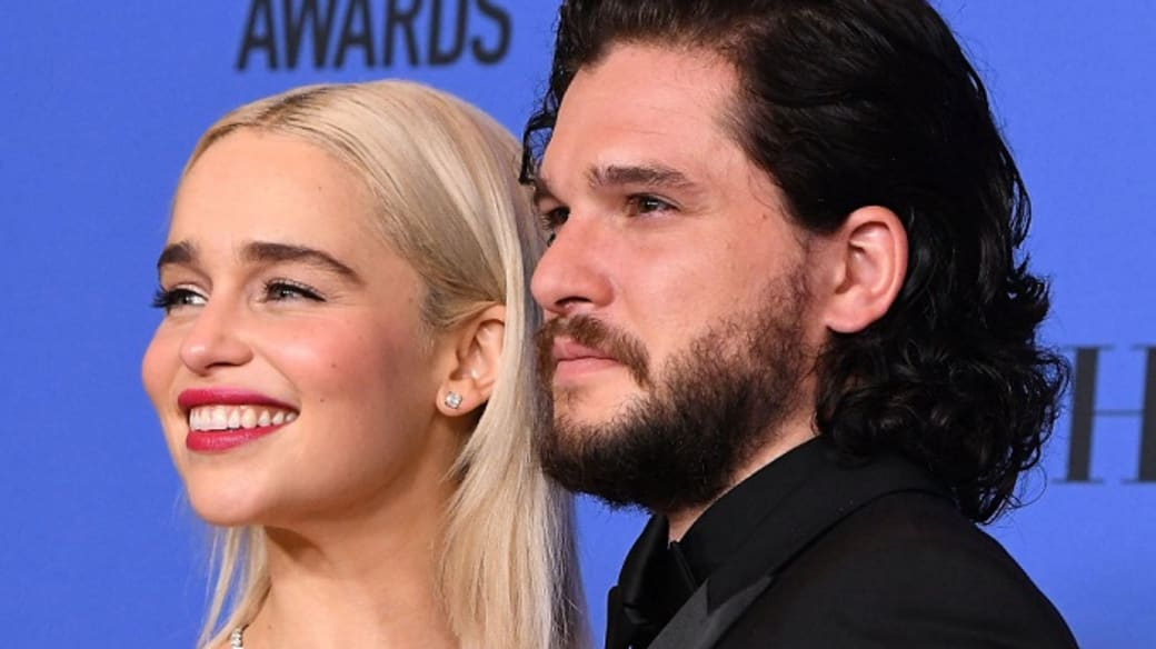 Game of Thrones' Emilia Clarke and Kit Harington