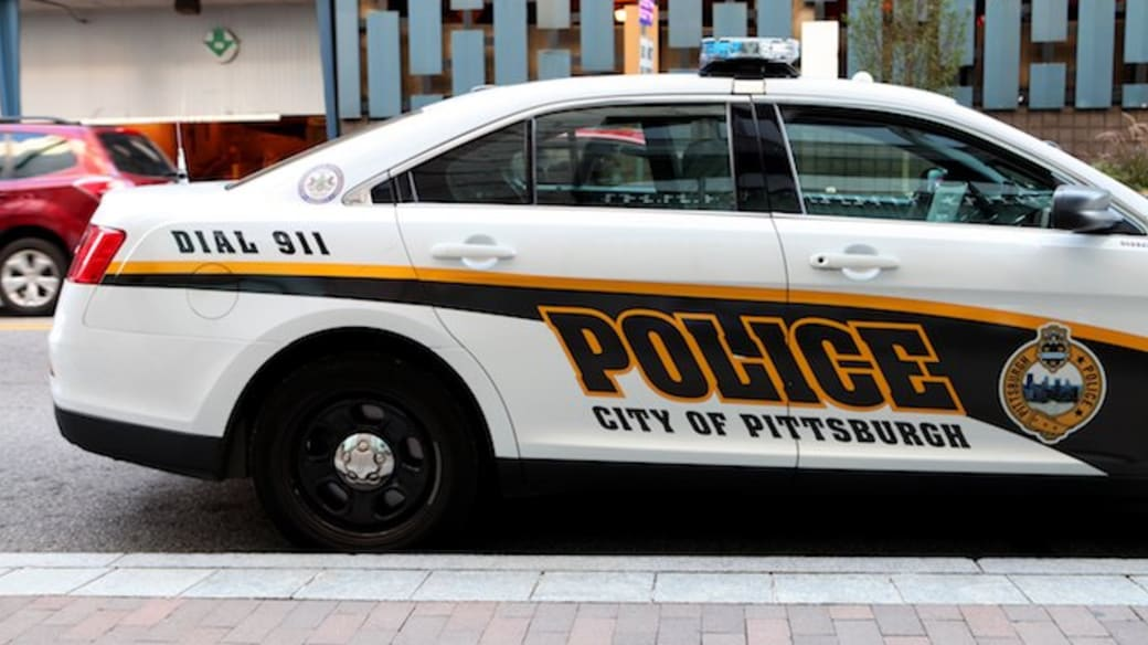 City of Pittsburgh police car.