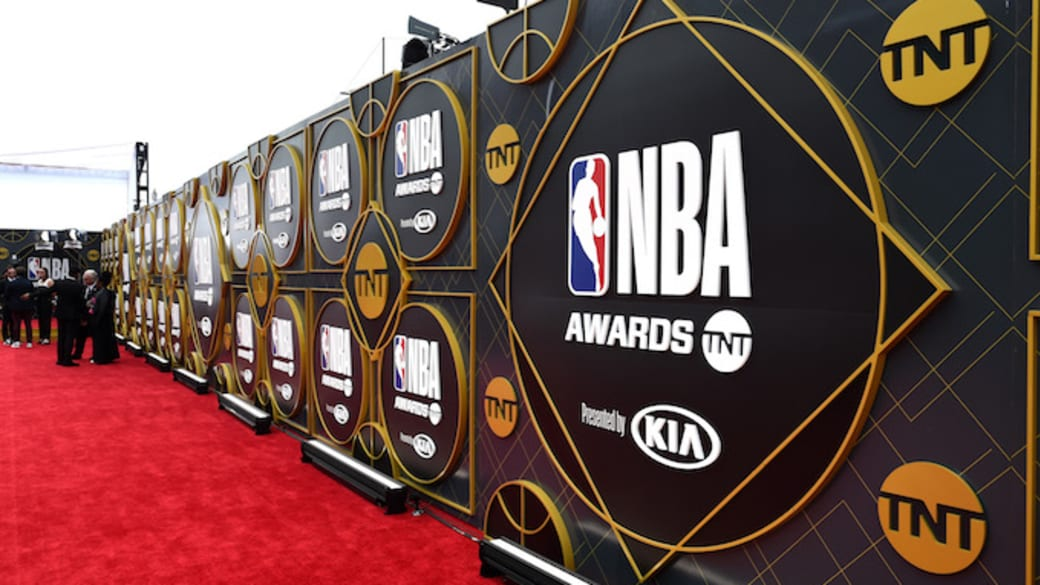 A view of the red carpet during the 2019 NBA Awards.