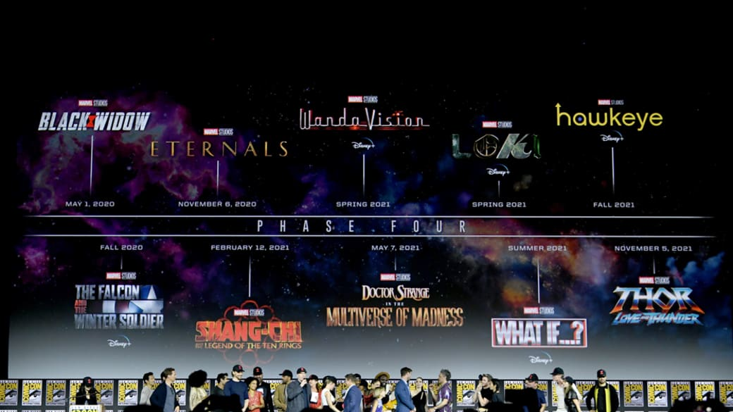 Marvel Studios Phase 4 at San Diego Comic-Con 2019