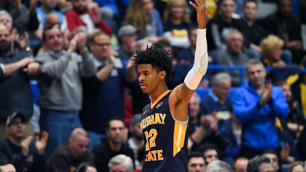 Ja Morant Murray St Marquette Send Off NCAA Tournament 2019