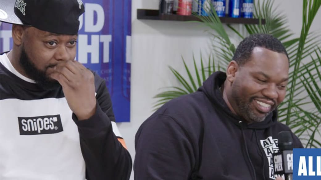 Ghostface Killah and Raekwon sit down to talk with Complex at All-Star Weekend.