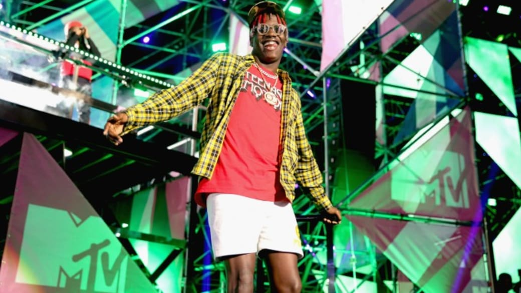 Lil Yachty performs.