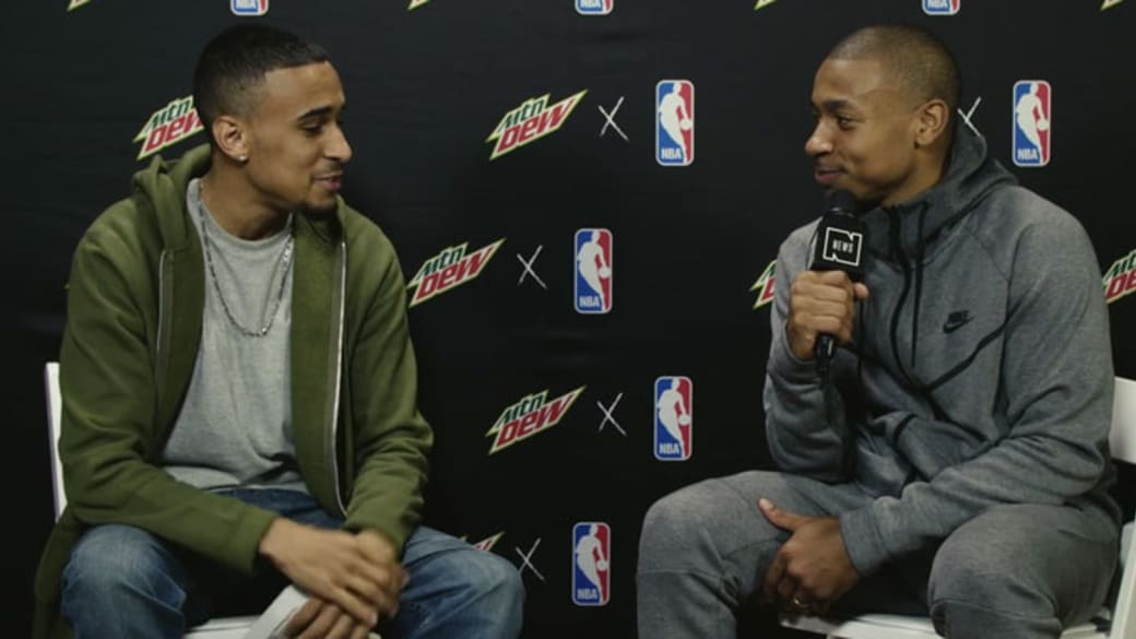 Isaiah Thomas speaks to Complex at 2017 All-Star Weekend.