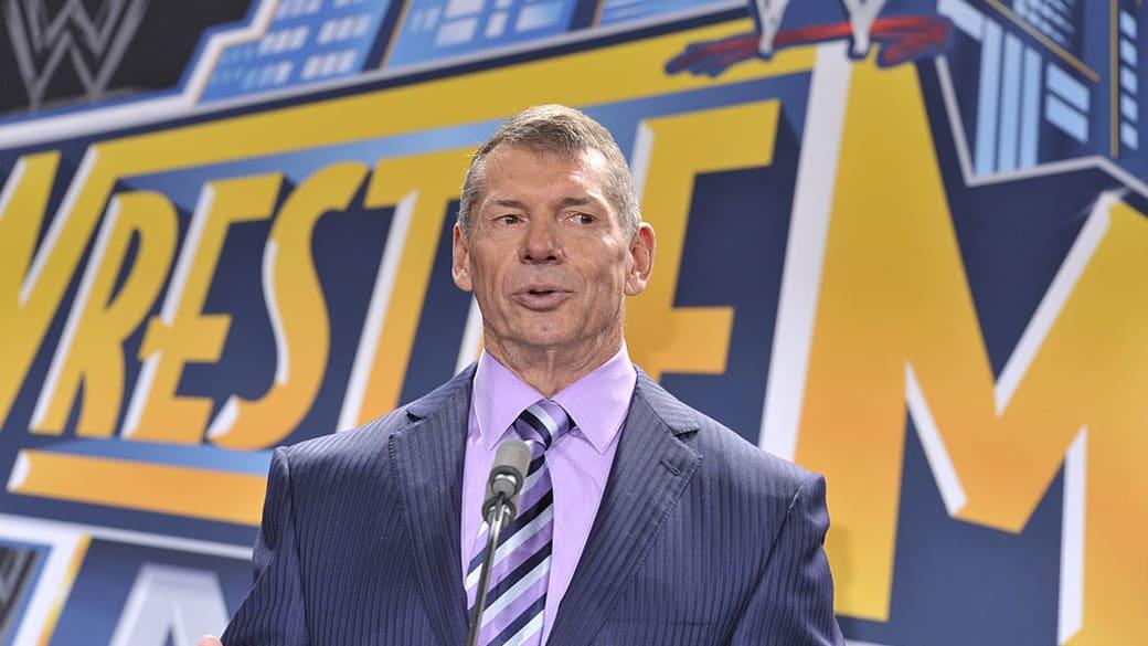 Vince McMahon Wrestlemania Meadowlands 2012 Getty