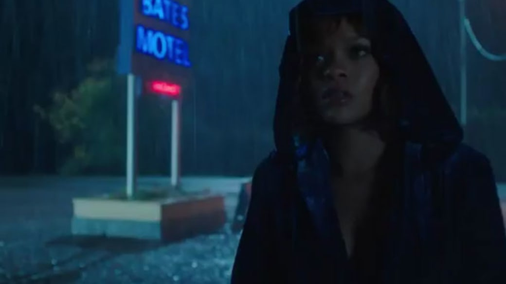 Rihanna checking into the Bates Motel.