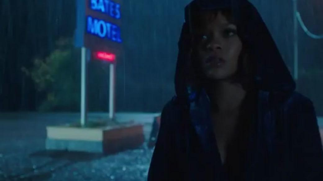 Rihanna checking into the Bates Motel.