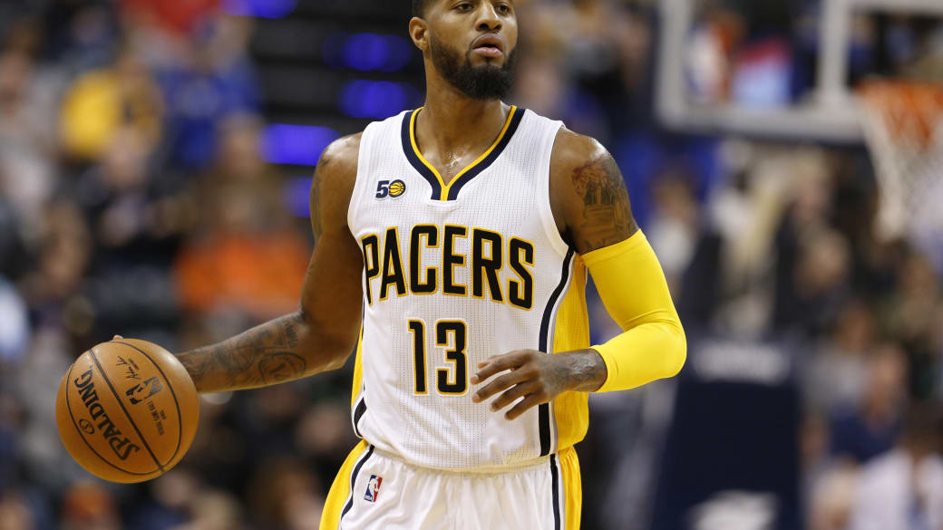 Paul George Washignton Wizards Indianapolis Pacers 2017
