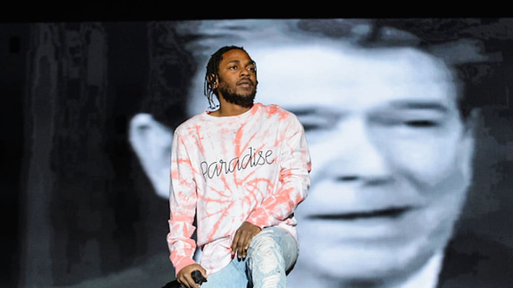 Kendrick Lamar performs live at Austin City Limits Festival