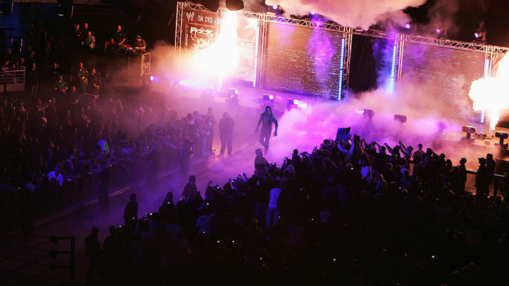 Undertaker Sydney Entrance 2008 Getty