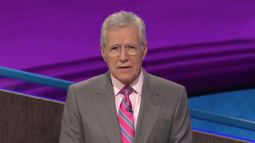 Alex Trbek on 'Jeopardy!'