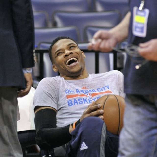Russell Westbrook Jokes About Missing Record-Breaking