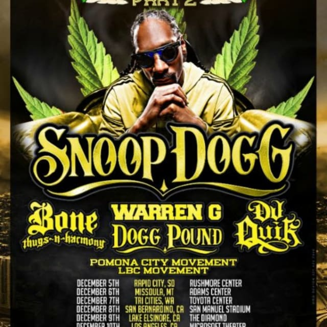 Snoop Puff Puff Pass Tour