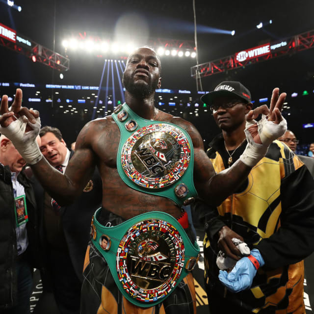 Deontay Wilder Is Fed Up With Anthony Joshua And His