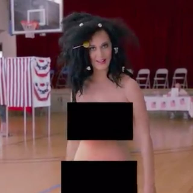 katy perry being nude and horny
