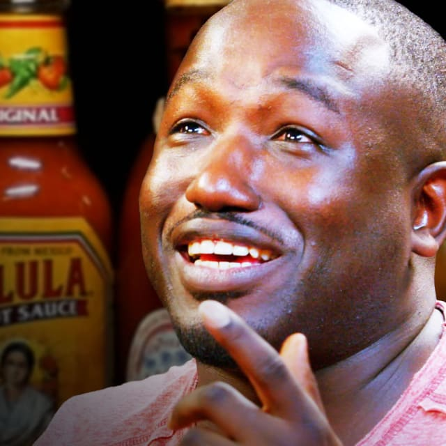 Hannibal Buress Freestyles While Eating Spicy Wings