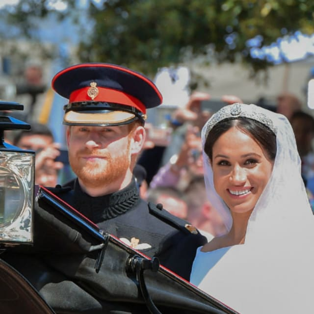 Here's Who Turned Heads At The Royal Wedding
