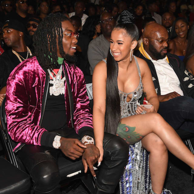 Hennessy Cardi B Tattoo: Offset Gets Cardi B's Name Tatted On His Neck