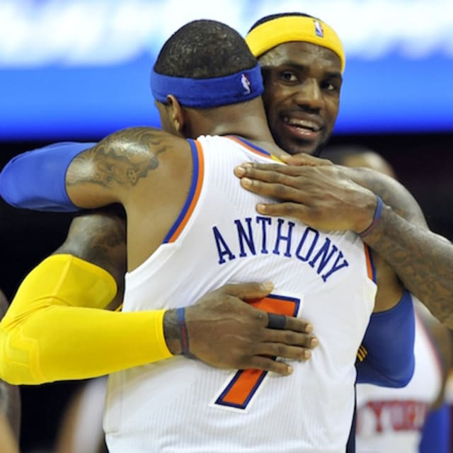 LeBron James Discusses Carmelo Anthony Trade Rumors | Complex
