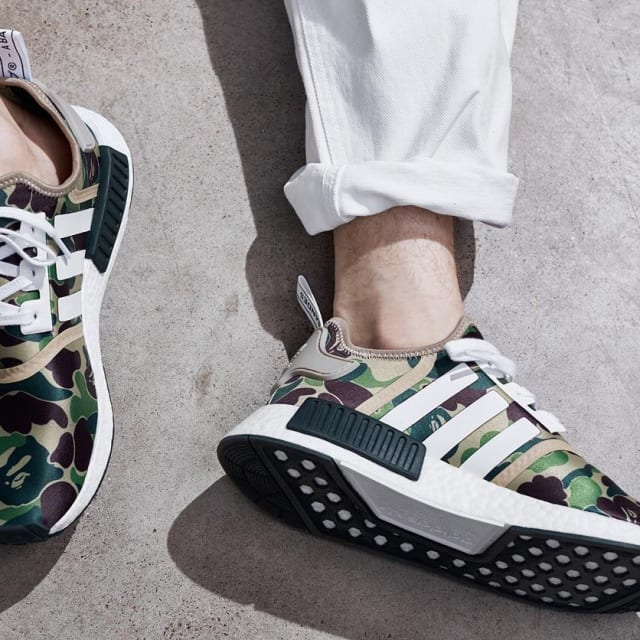 new arrival 2f753 18308 ... Bape Nmd On Foot  Supreme Shuts Down Its Foamposite Release