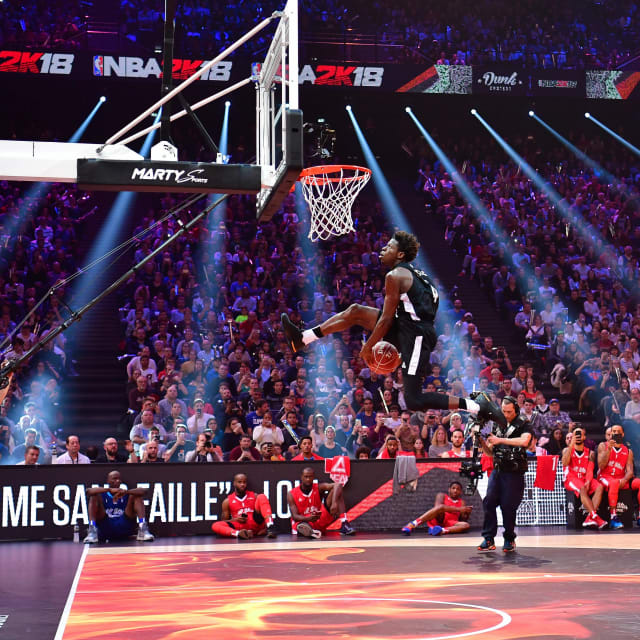 Dunk Contest 2017: The Best Dunks In NBA Slam Dunk Contest History