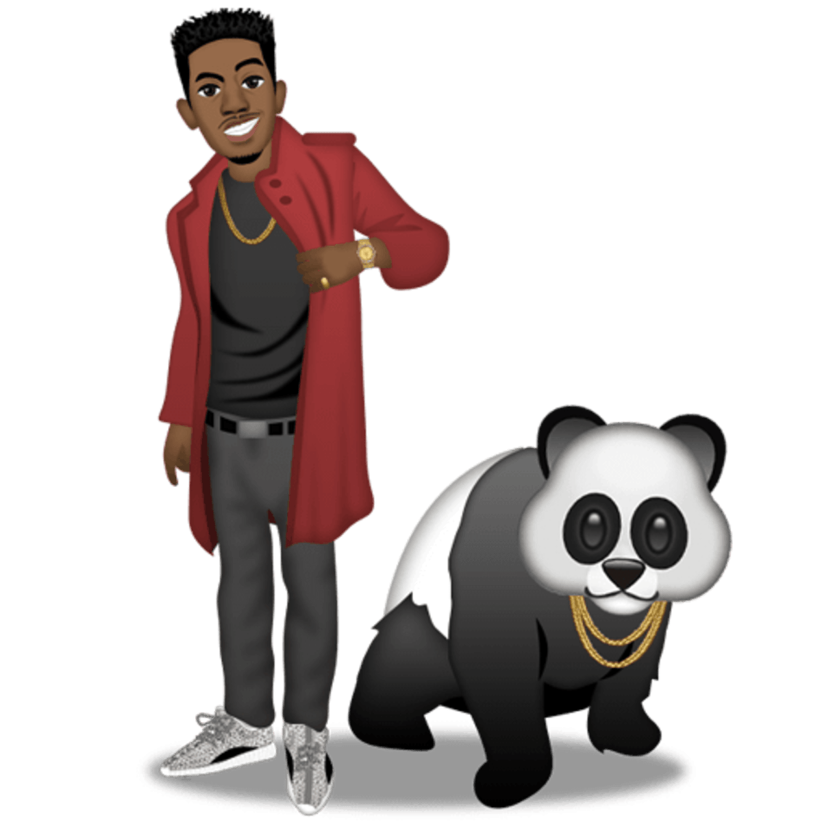A Z Cartoon Characters Rap : Exclusive desiigner releases emoji pack featuring kanye
