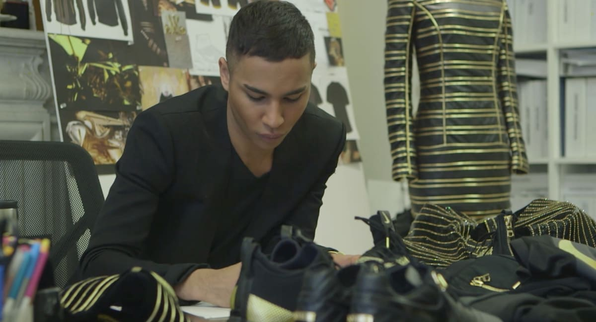 Everything You Need to Know About Olivier Rousteing, Nike's Newest Collaborator