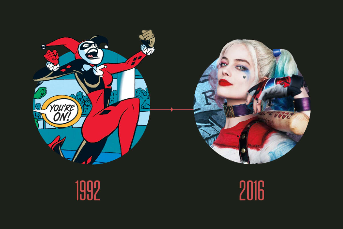 Over Sexualization Of Harley Quinn