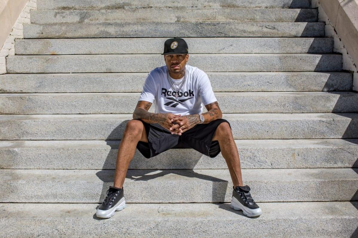 Allen Iverson Wants a Sneaker Legacy Like Michael Jordan s  43a8f1b0f