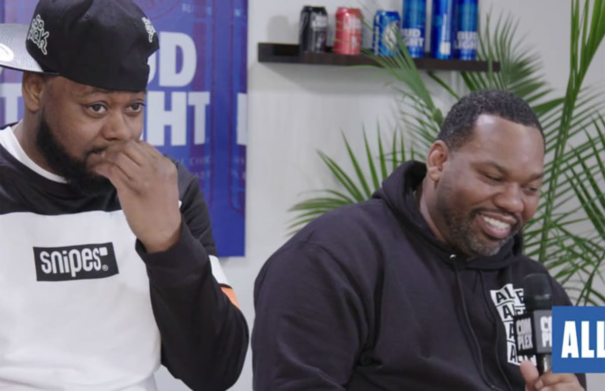 complex.com - Gavin Evans - Raekwon and Ghostface Killah Talk to Complex at NBA All-Star Weekend