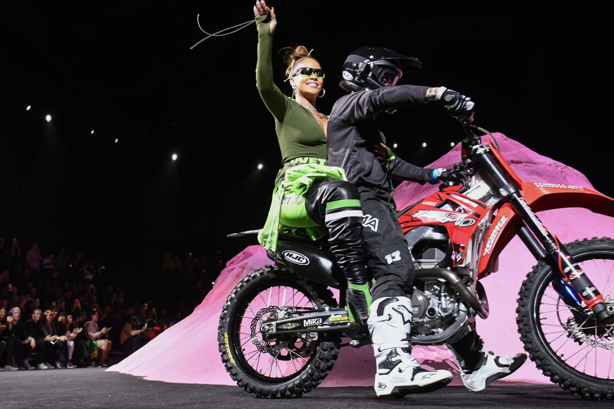 19a6a789a6697 Rihanna s Fenty x Puma Spring 2018 Fashion Show Was the Thrilling Moment  NYFW Needed