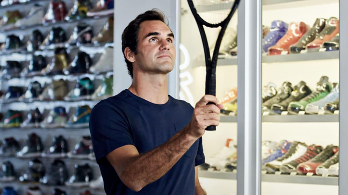 17e3e25060b2ef Sneaker Shopping With Roger Federer