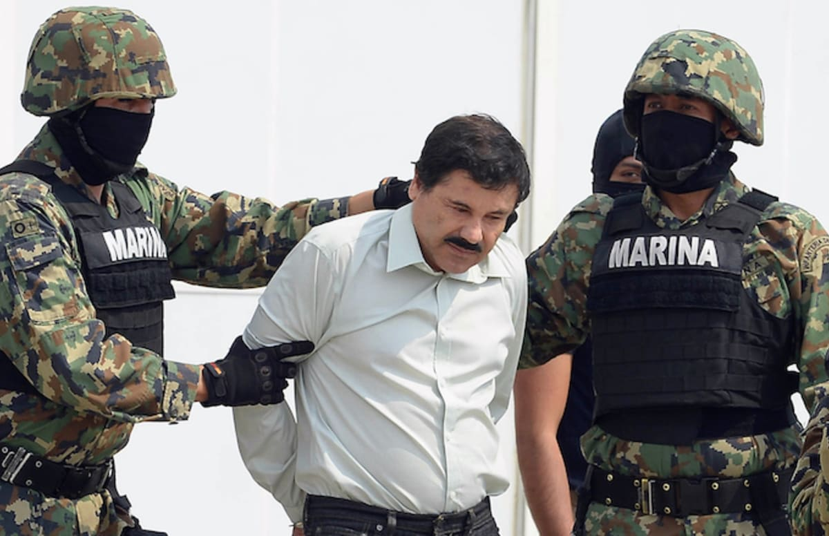 El Chapo Reportedly Operated a Cocaine Train Route From Mexico to NYC