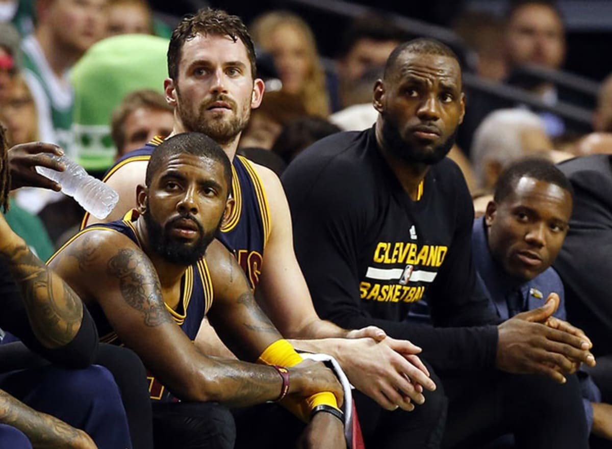 Kyrie Irving Addresses Relationship With LeBron James and Trade Request on   First Take  f2f2ec6967e0