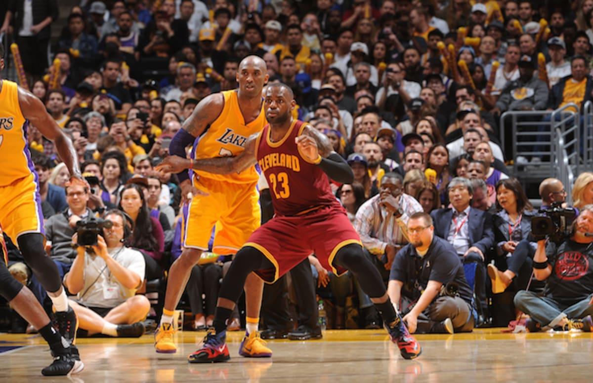 Kobe Lebron Lakers >> Matt Barnes Says It Would Be 'Dope' If Kobe Bryant