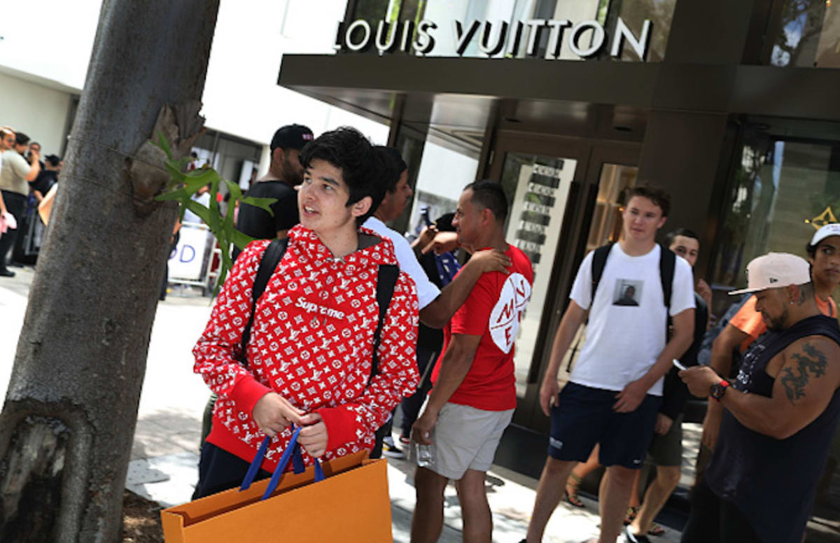 Louis vuitton cancelled design by ipo