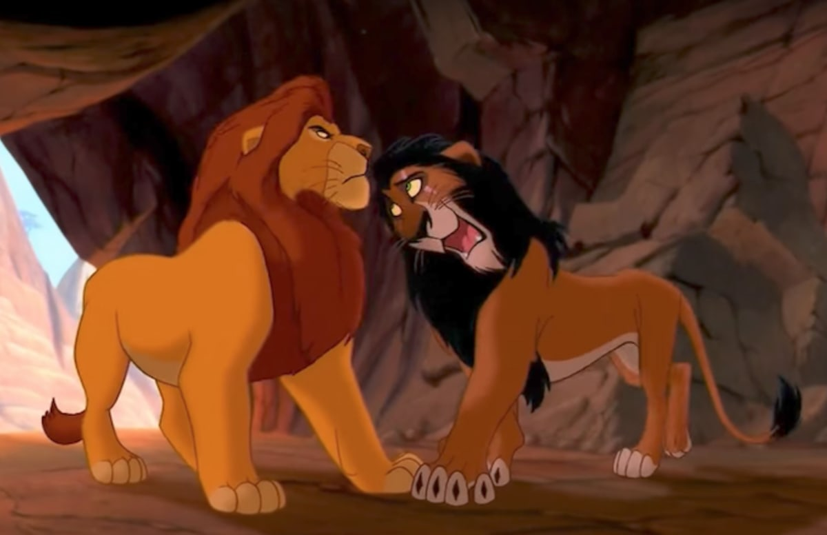 Lion King Scar And Mufasa Mind Blown: Muf...