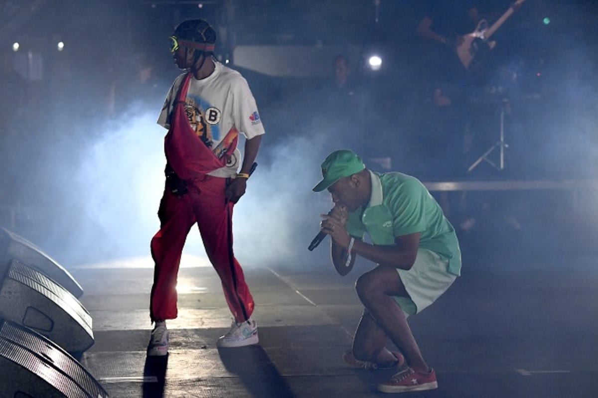 Tyler, the Creator Brings Out ASAP Rocky at III Points Festival