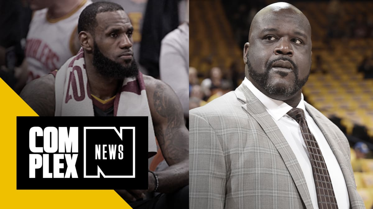 f2c842f90d26 Shaquille O Neal Advises LeBron Not to Make Same Mistakes  His  Book Is  Already Set